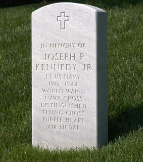 Joseph P Kennedy's Grave at Arlington