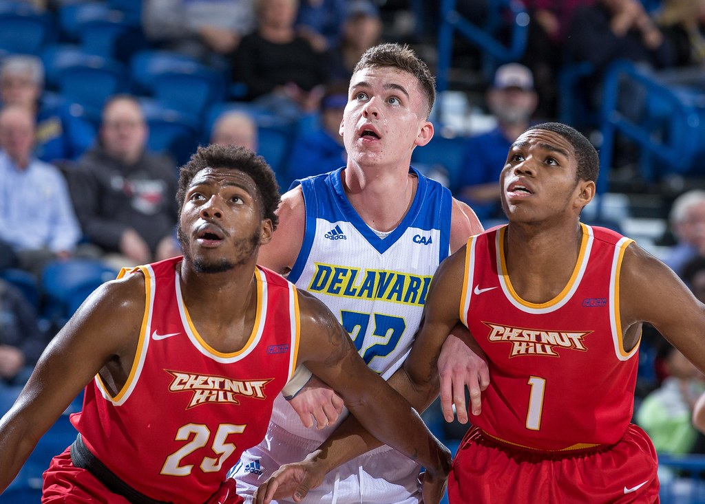 Blue Hens slam Chestnut Hill College in 38-point home victory
