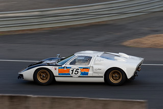 FORD GT40 , Le Mans classic .