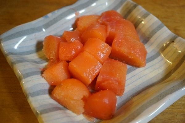ふるさと納税北海道産たらこと明太子セットの味、食べてみた感想