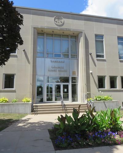 Shawano County Courthouse Detail (Shawano, Wisconsin)