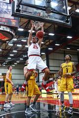 UCM vs Wayne State Men's Basketball 2018