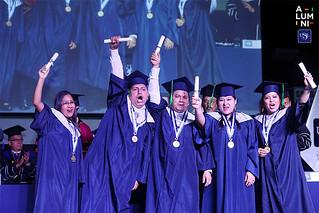 El programa de Carreras Universitarias para Personas con Experiencia Laboral (CPEL) celebró el 22 de noviembre la ceremonia de graduación de 251 alumnos de la promoción 2018-01.