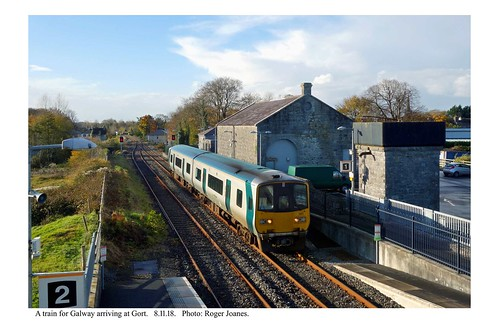 Gort. Train for Galway.  8.11.18