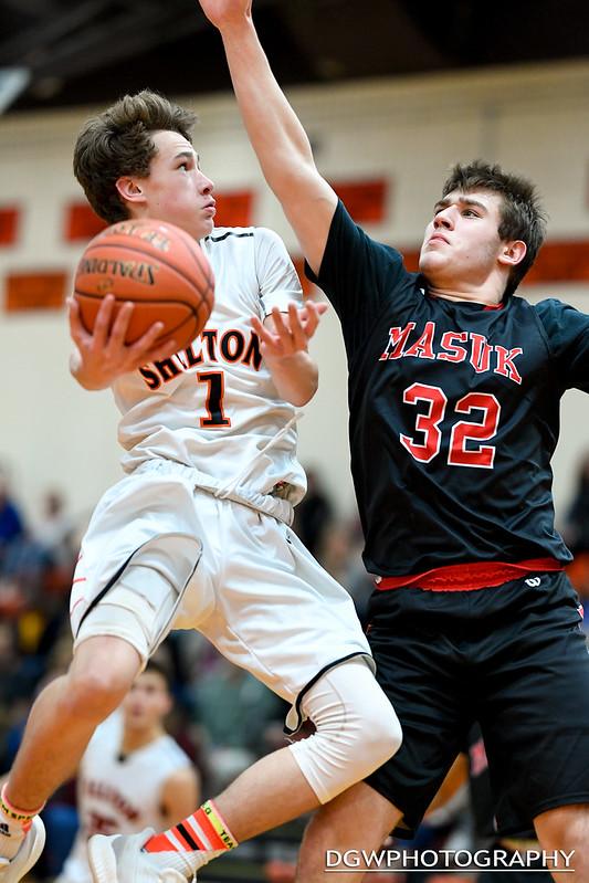 Shelton vs. Masuk High - High School Basketball