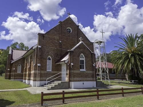 St Brigid's Catholic Church, Bulahdelah NSW, built 1926
