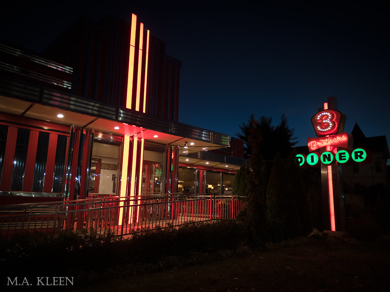 Three Brothers Diner in Danbury, Connecticut
