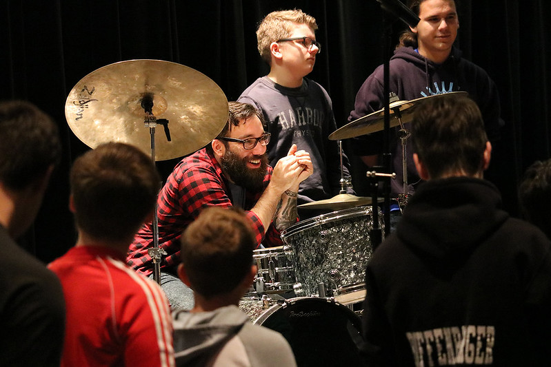 2018 Edison State Music Education Clinics with Lucky Chops