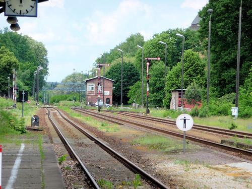 Bahnhof Niesky Juni 2013