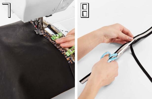 DIY Fashion Clutch Steps 7 8