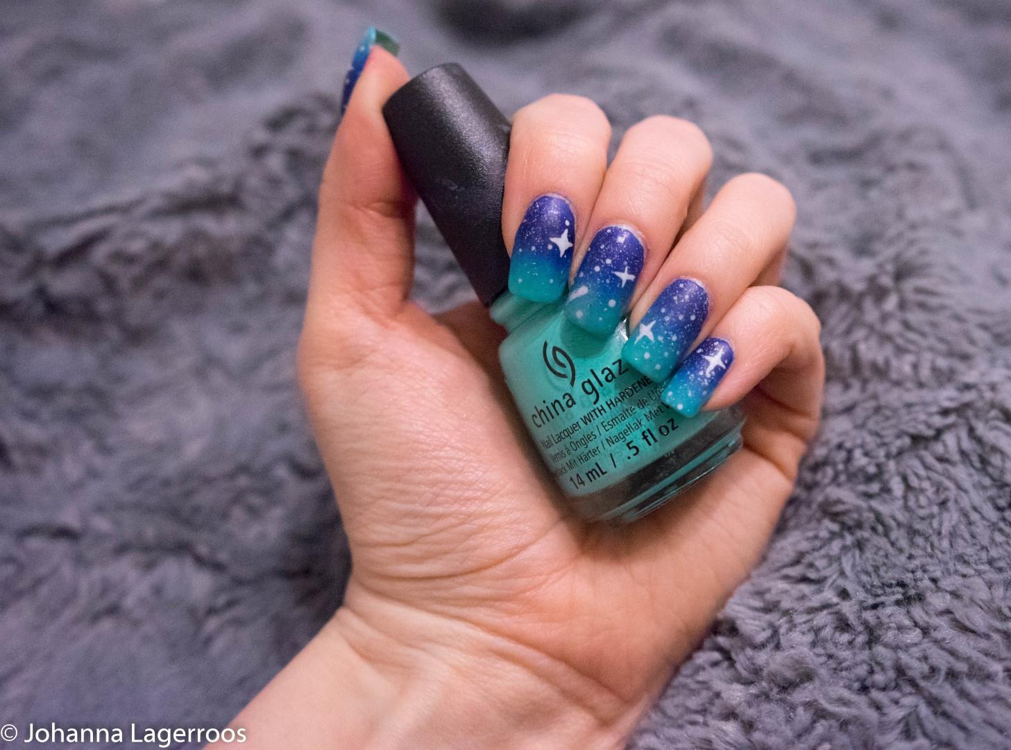 night sky nails