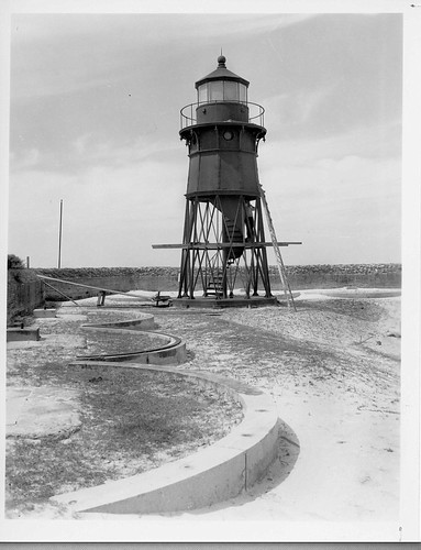 Mobile Point lighthouse 1938