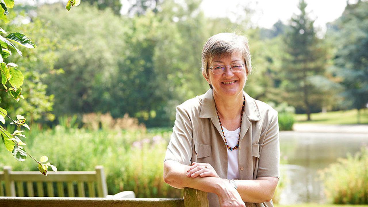 Barbara Nunn visits campus