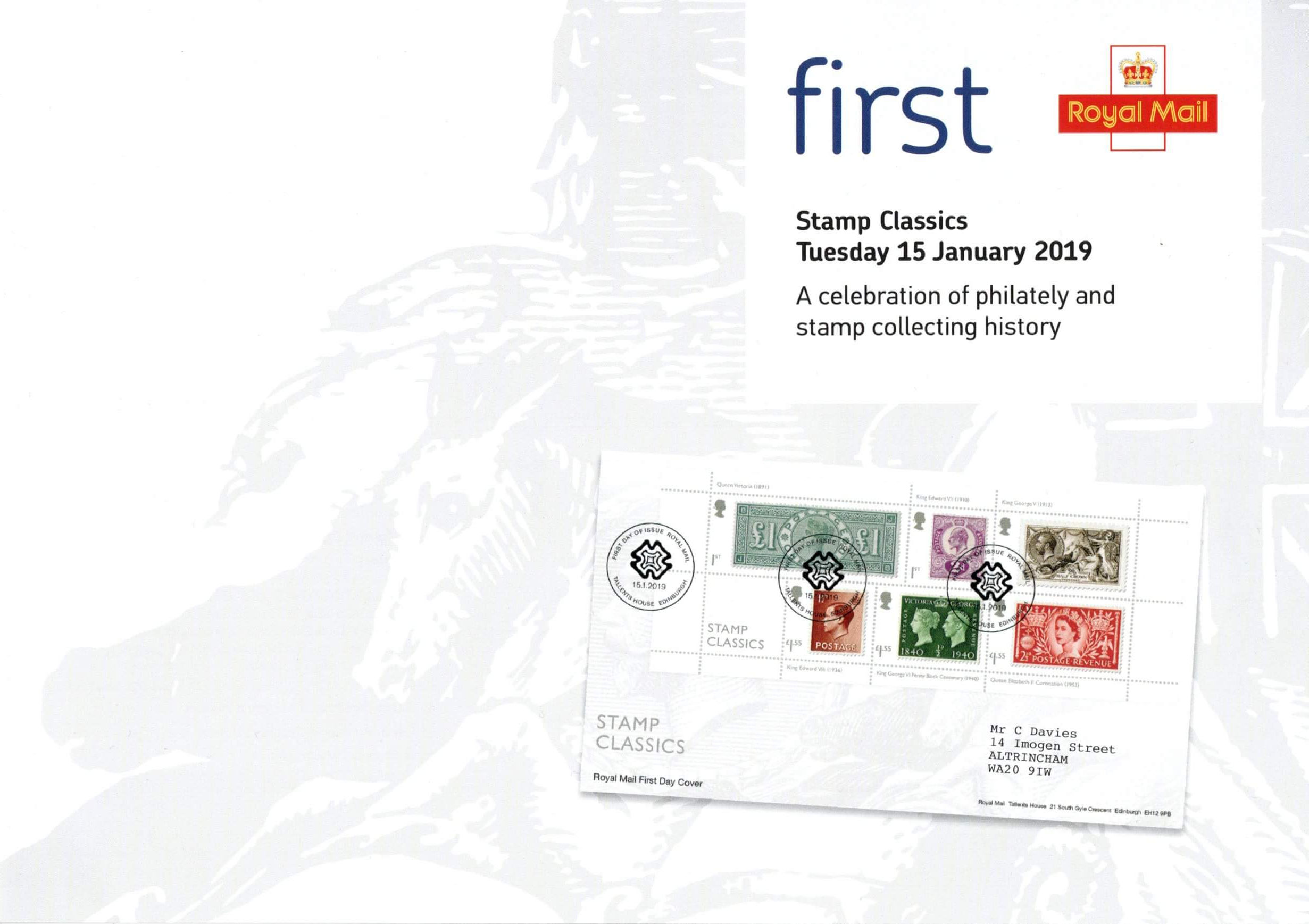 Great Britain - Stamp Classics promotional poster