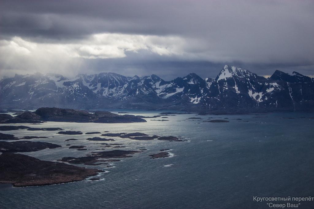Погода в Гренландии очень быстро меняется
