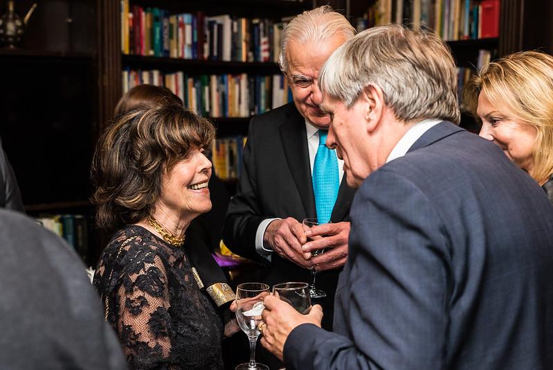 Didi Cutler, Ambassador Mulhall, Hani Masri