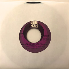 GLADYS KNIGHT & THE PIPS:NEITHER ONE OF US(JACKET A)