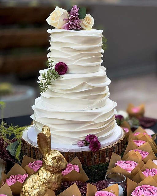Wedding Cake by Hidden Gem Cakes - Custom Cakes, Cupcakes and Cake Pops