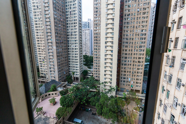 View from a Hong Kong Apartment