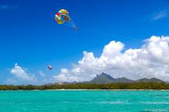 Colors over Mauritius Island