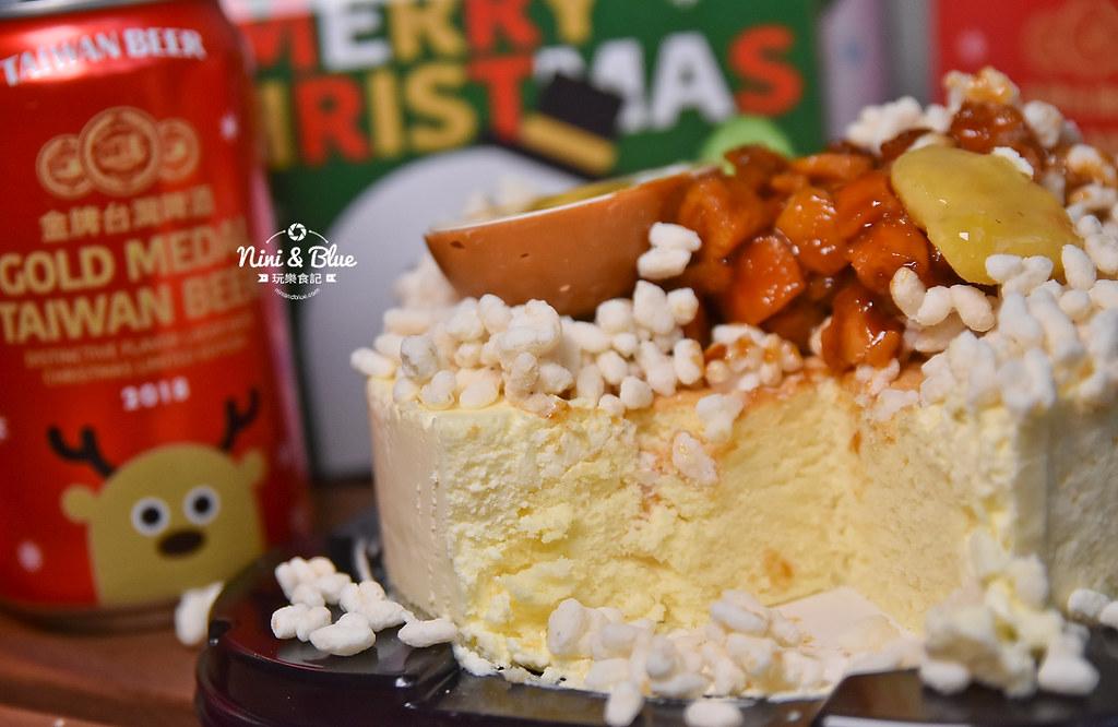 85度C滷肉飯蛋糕 金牌台灣啤酒耶誕版10