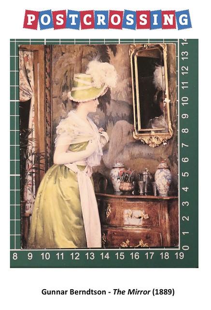 033 - Gunnar Berndtson - The Mirror (1889)