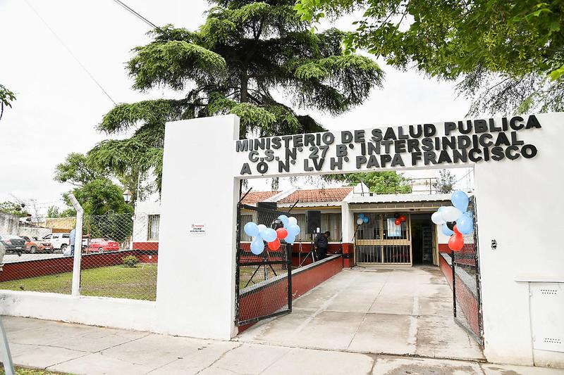 Inauguración del Centro de Salud del Barrio Intersindical