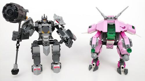 LEGO Overwatch D.Va & Reinhardt (75973)