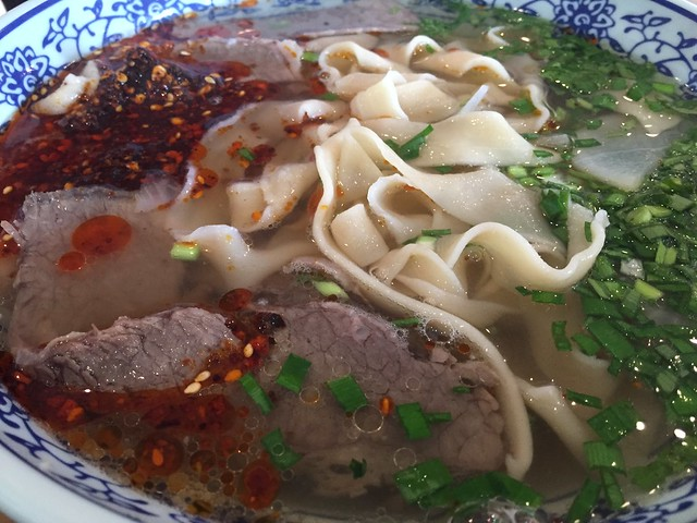Lanzhou Hand-Pulled Beef Noodle Soup