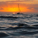 Maui, Hawaii sunset, shot from in the water by Don Briggs
