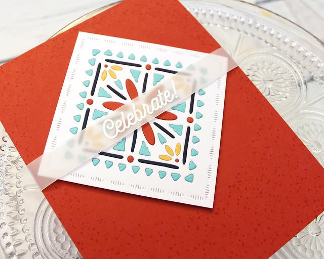 LizzieJones_PapertreyInk_January2019_CornerAdornerJanuary_ShapeShiftersSquare_Celebrate!Card3