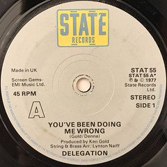 DELEGATION:YOU'VE BEEN DOING ME WRONG(LABEL SIDE-A)
