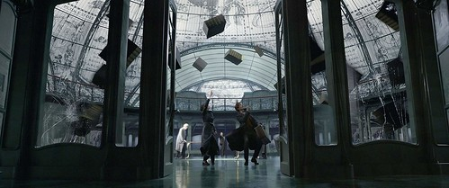 At the French Ministry of Magic. From A First Look at Fantastic Beasts: The Crimes of Grindelwald