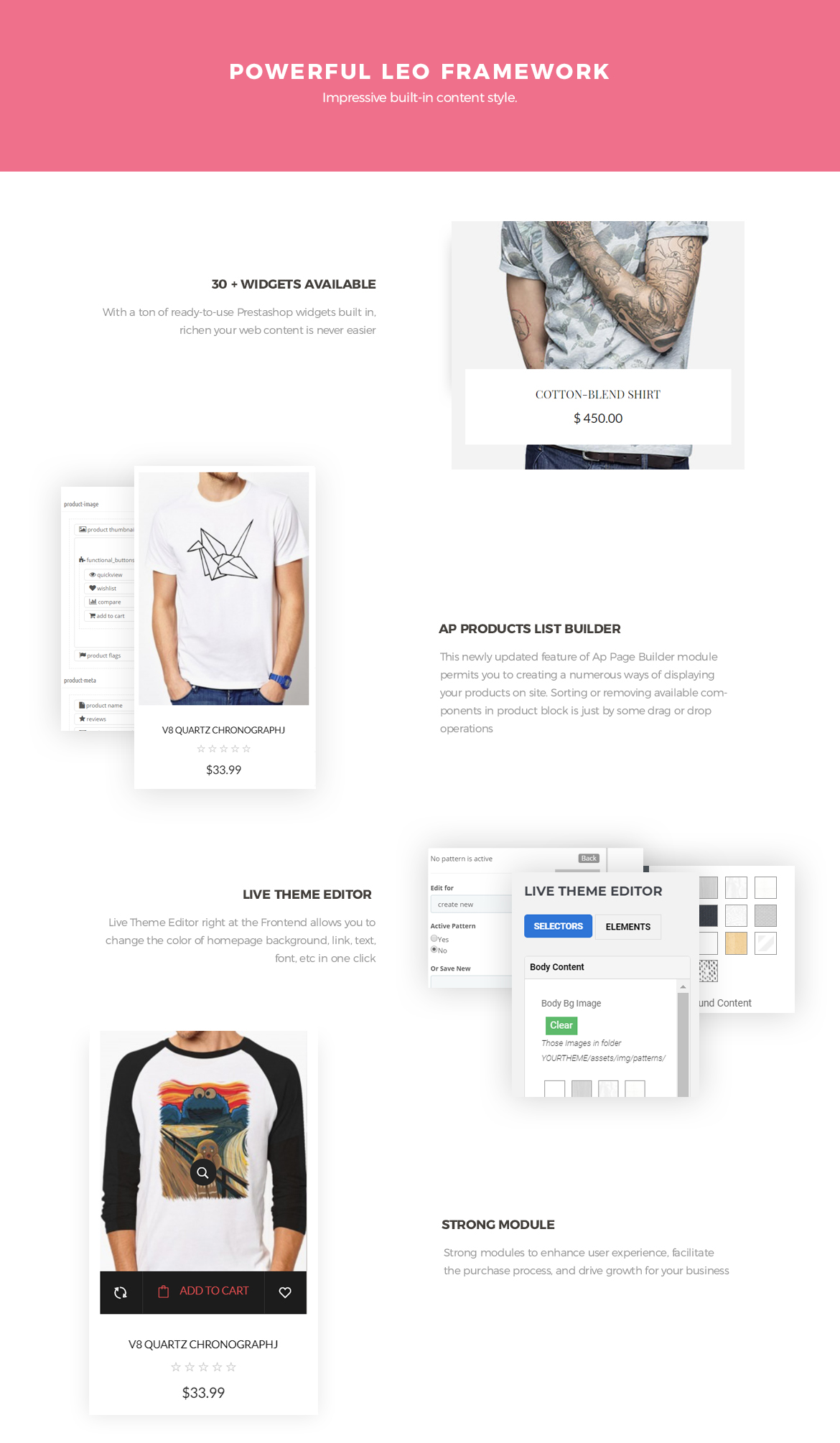 Powerful-Leo-Framework - Leo Chic - Women Fashion and Lingerie Store