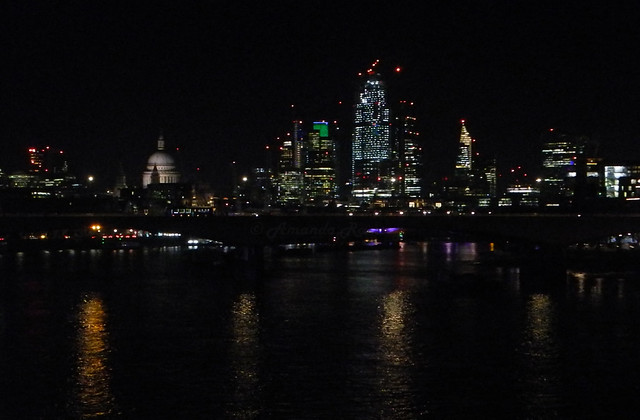 London Skyline in the, Nikon COOLPIX P7100