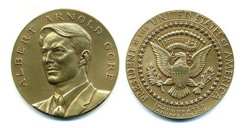 2001 Al Gore Inaugural Specimen Medal