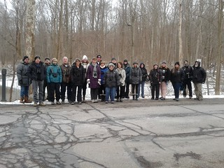 Second Saturday Birders Jan 2019 at Rocky River Reservation by Marty Calabrese