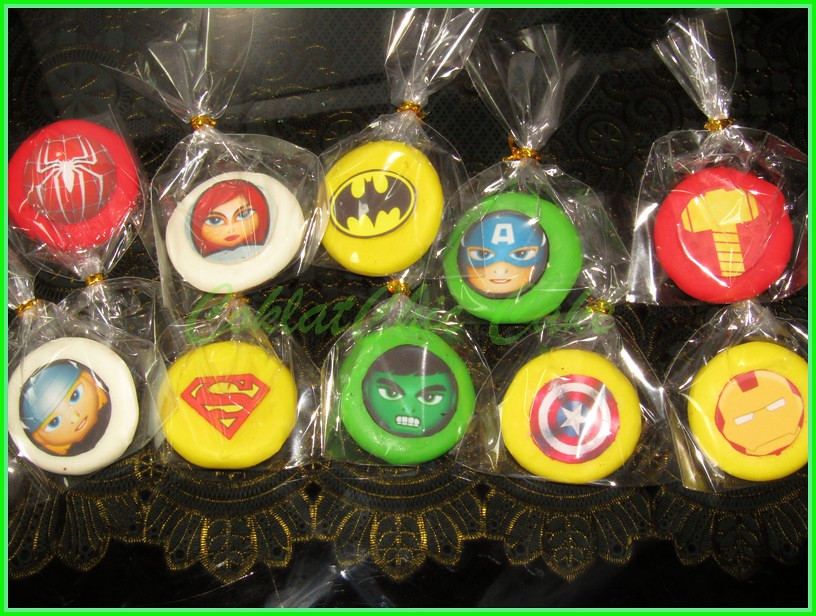 cookies superhero