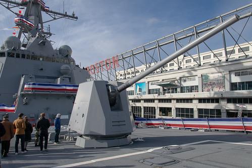 USS Hudner Cannon
