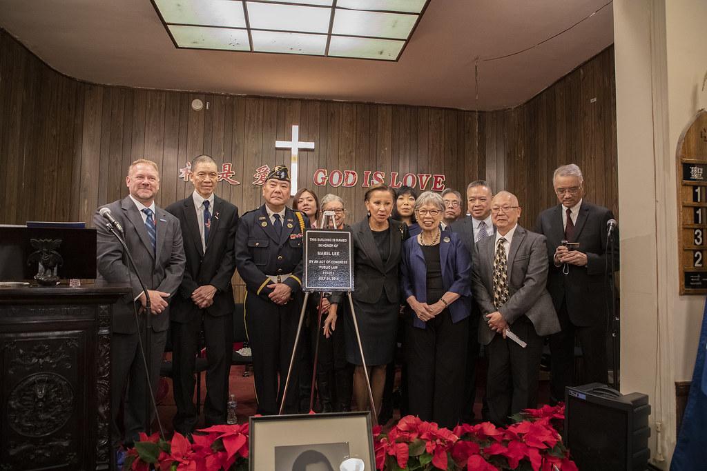 Dr Mabel Lee Post Office Dedication - 2018