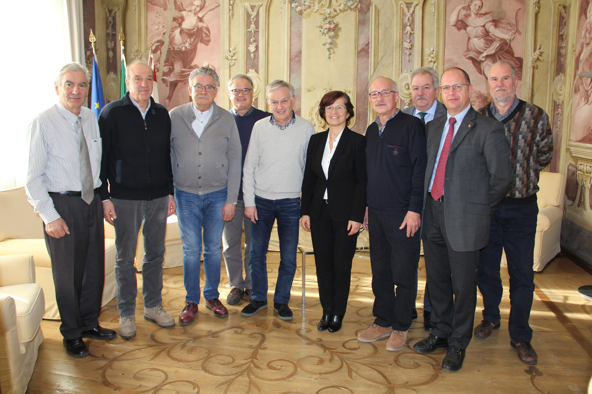 2019 - Incontro col Presidente Consiglio Provinciale Walter Kaswalder