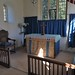 040-20180927_Great Washbourne Church-Gloucestershire-Sanctuary, with Altar and E Window, viewed from SE corner of Chancel
