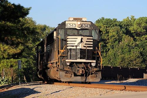 NS 6343 (SD40E) Irondale, Alabama