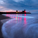 Wave sand light