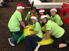 Hawaiian Electric at the HUGS Christmas Party – Dec. 15, 2018 – Our employees ready to have fun and spread joy!