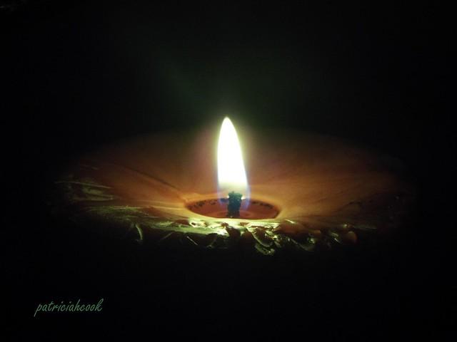 Candle Burning, Fujifilm FinePix S8200