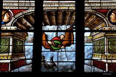 Vitrail cathédrale d'Auch (détail)
