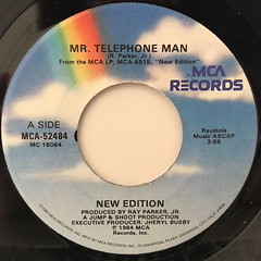 NEW EDITION:MR. TELEPHONE MAN(LABEL SIDE-A)