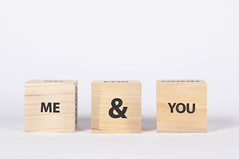 Wooden Blocks with the Me&You text