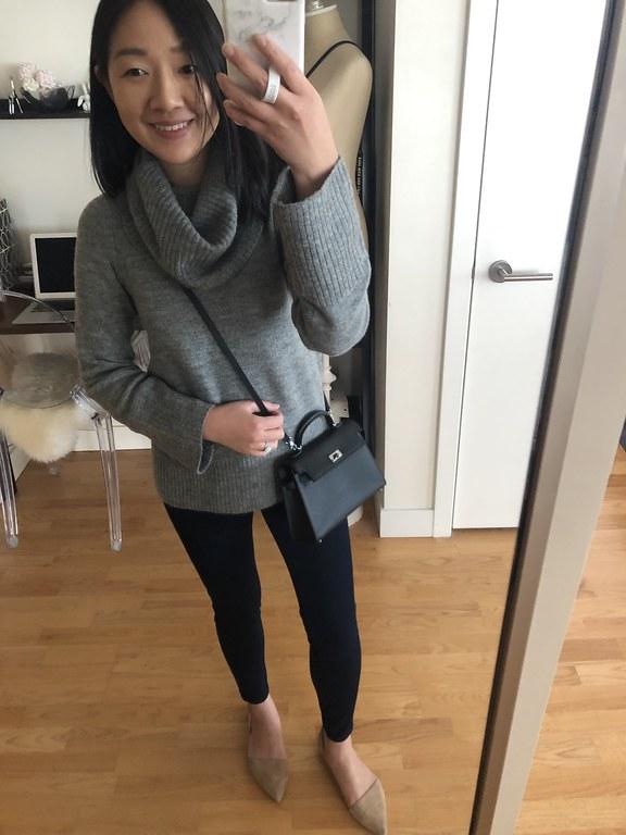 Ann Taylor Cozy Ribbed Turtleneck Sweater, size XXS regular
